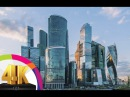 Beautiful Cities in the World - Moscow , Russia 4K