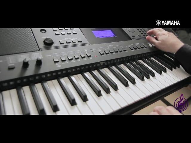 Синтезатор Yamaha PSR E453, обзор на русском языке