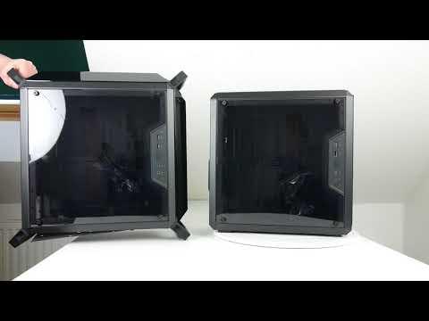Ausgepackt angefasst Cooler Master MasterBox Q300P und MasterBox Q300L Mini Tower im Doppelpack