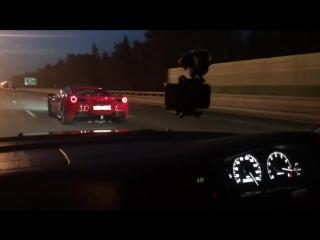 Ferrari 488 Spider (670hp) vs Toyota Mark-2 2jz gtx4202