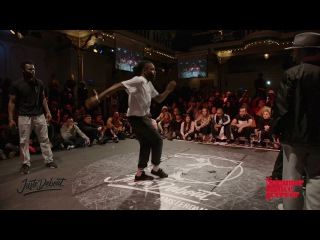Franky Dee & P-Dog HIGHLIGHT HIPHOP FINAL - JUSTE DEBOUT HOLLAND 2017