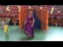 Празднование Гаурапурнимы в Екатеринбурге. Танец Матаджи Анахата Сева дд. 04.03.2018