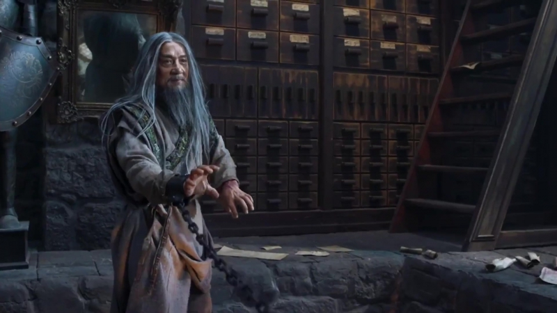 RUS Тизер №2 фильма Тайна Печати дракона путешествие в Китай 2018