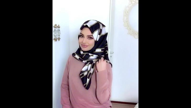 Gorgeous Hijab Tutorial credit@fa t1ma