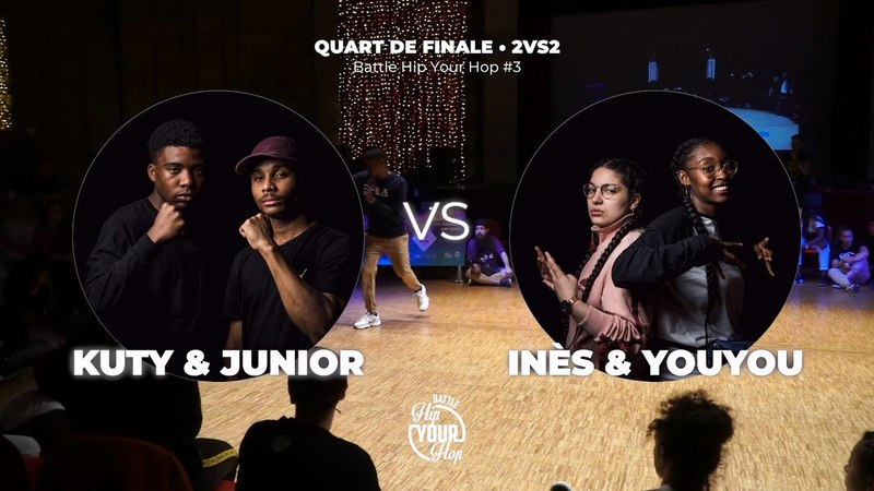 Kuty Junior VS Inès Youyou QUART • 2VS2 Battle Hip Your Hop 3