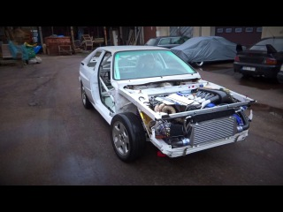 Audi Ur-Quattro first test drive, first sound, first launch with 20VT 2.2 Turbo AAN