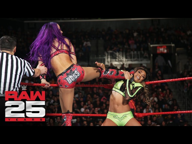 SBMKV Video Banks Bayley Asuka James vs Jax Rose Deville Fox Raw 25 Jan 22 2018