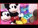 Cemre Su Anne Mini Mouse ve Miki Mouse Oyuncak Mutfağımızda Yemek Hazırladık (Kız Çocuk Oyunları)
