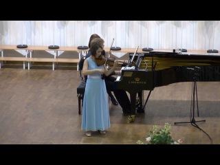 Полина Сенатулова - Ф. Мендельсон - Концерт для скрипки с оркестром e-moll