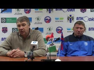 пресс-конференция О.Чубинского и И.Загоскина