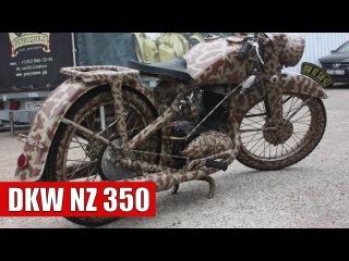 Реставрация мотоцикла 'DKW NZ 350'.