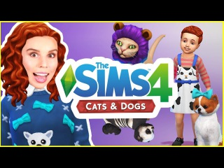 THE SIMS 4 CATS AND DOGS!! | Create a Sim Review!  (Hair, clothes and traits)