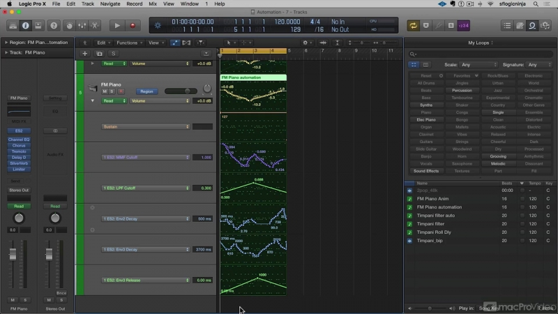 MacProVideo - Logic Pro FastTrack 103 Automation Tools and Techniques