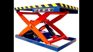 Roller+Pallet Hydraulic Lift Table Elevator Lifter LM-2