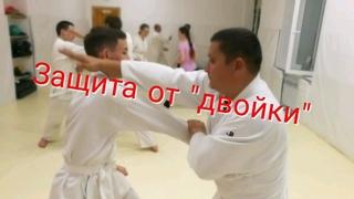 Aikido hand deflection training drills