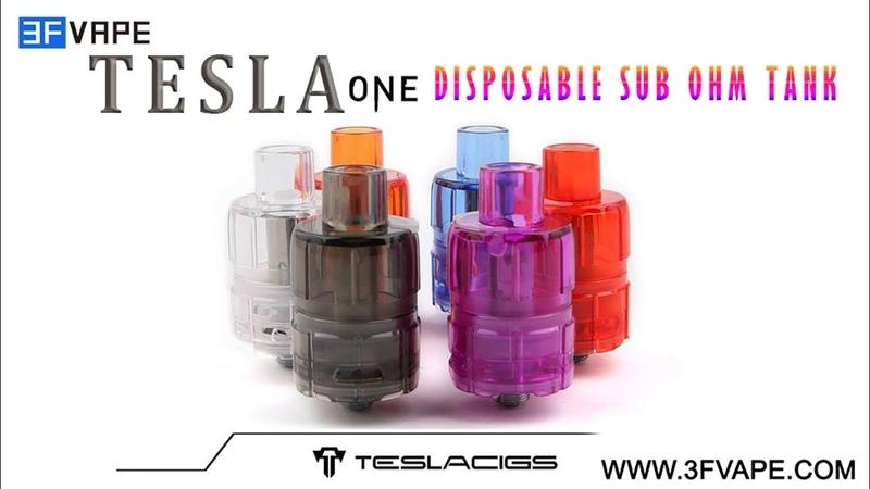 Tesla One Disposable Sub Ohm Tank