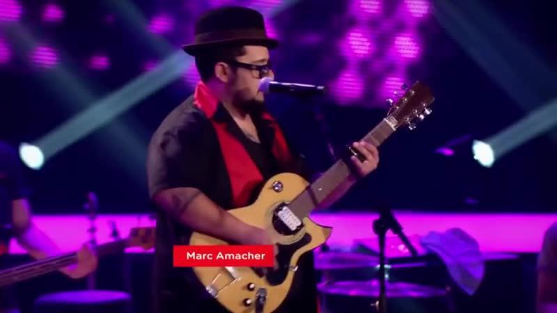 Marc Amacher Rockt the voice