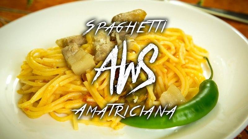 NOWmagazin a konyhában: Spaghetti all'Amatriciana a'la AWS