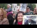 Харьков 9 мая репортаж с места событий провокация бендеровцев на возложении цветов к вечному огню