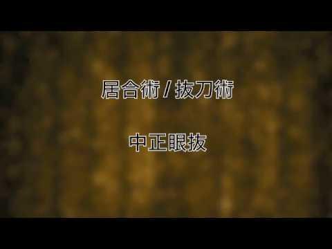 Ninjutsu - Dr. Kacem Zoughari - Iaijutsu Battôjutsu Nakaseigan Nuki 中正眼抜