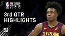 Cleveland Cavaliers vs Boston Celtics - 3rd Qtr Highlights | October 2, 2018 | 2018 NBA Preseason
