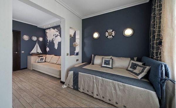 Дизайн интерьера в морском стиле, изображение №15