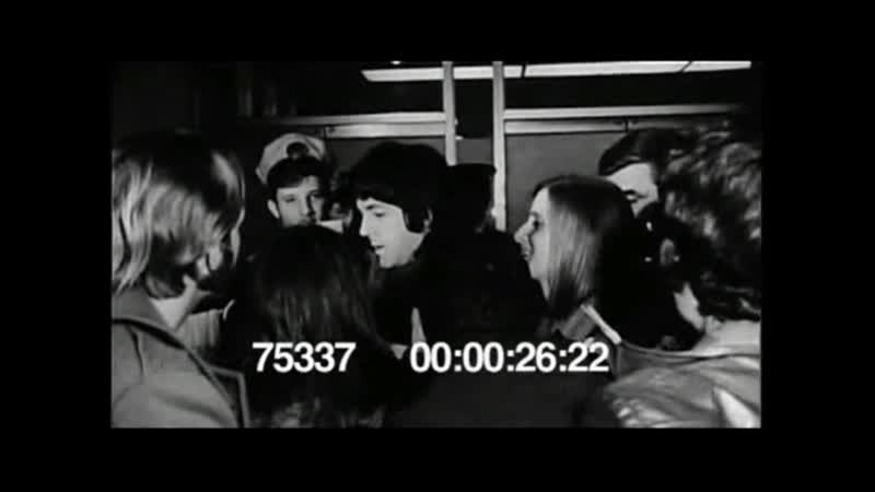 NYC Kennedy Airport raw news footage (1969.03.17)