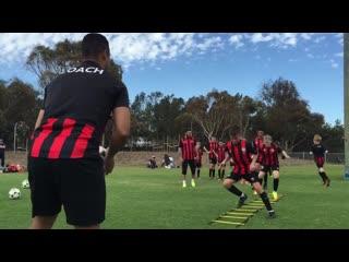 Футбольные упражнения на технику и координацию