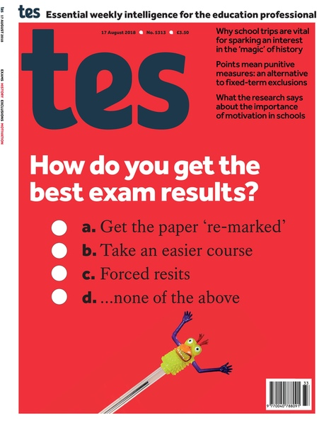 2018-08-17 Times Educational Supplement