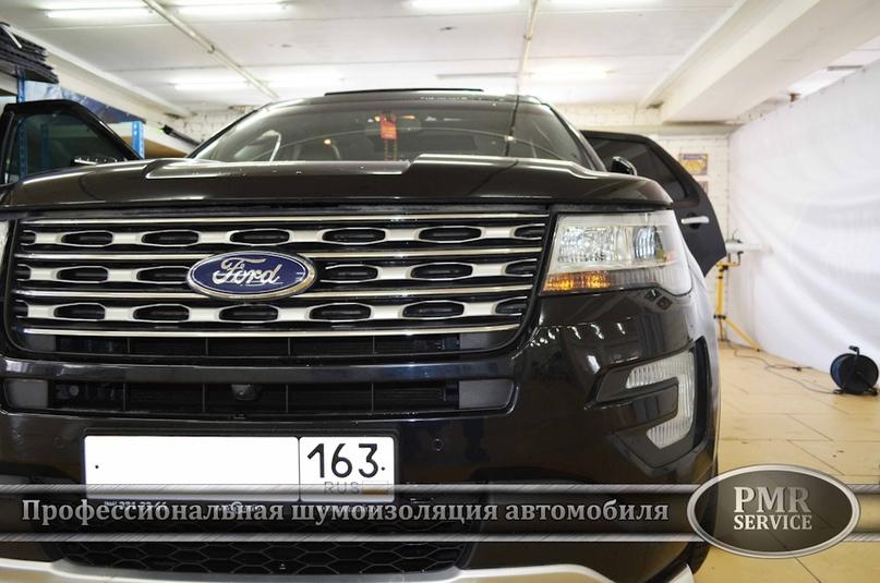 Шумоизоляция Ford Explorer, изображение №2