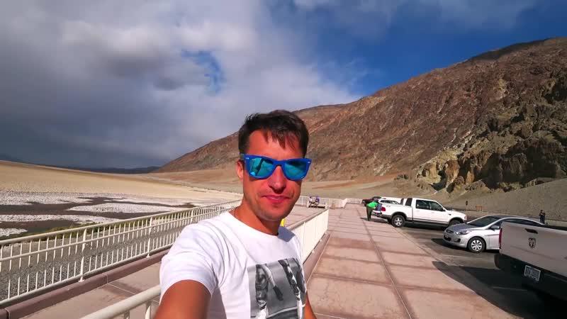 Долина Смерти Брошенные Города Ночь в Пустыне Лас Вегас