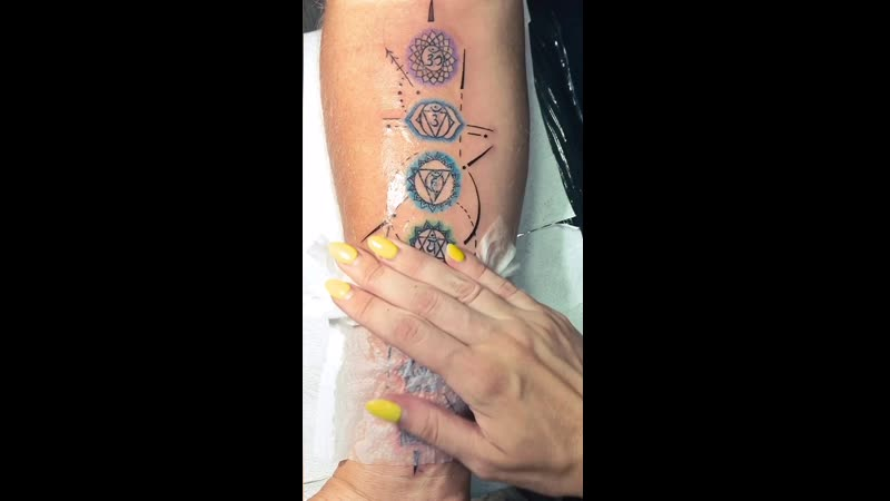 ✨CHACRAS TATTOO✨