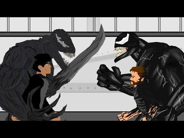 Веном Против Райота/ Venom vs Riot (Рисуем мультфильмы 2)
