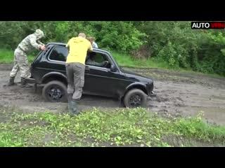 Владелец нивы сошел с ума! нивы против mitsubishi l200, jeep grand cherokee