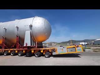 Платформа для перевозки более 500 тонн груза