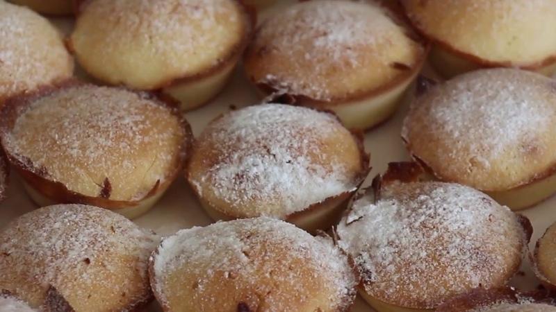 Фрацузское печенье Мадлен Вкусные корки