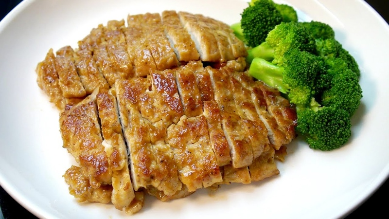 嫩煎黑椒鸡胸肉,我家孩子最喜欢,鲜嫩多汁,营养不流失 我是马小坏