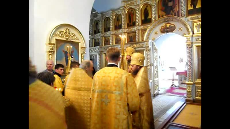 Крестный ход с мощами прп.Феодора (8). Санаксарский монастырь (2011 г.)
