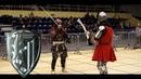 Knights fight with the spar - Michał Bednarski vs Jakub Buzak [30 Jaworzno 2015 ]