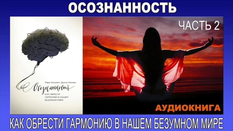 Аудиокнига Осознанность как обрести гармонию в нашем безумном мире Часть 2 3