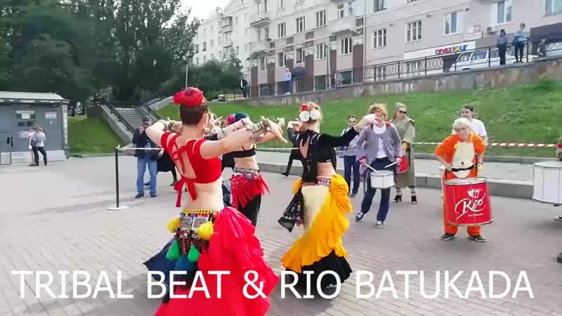 Трайбл Бит и Рио Батукада совместная импровизация
