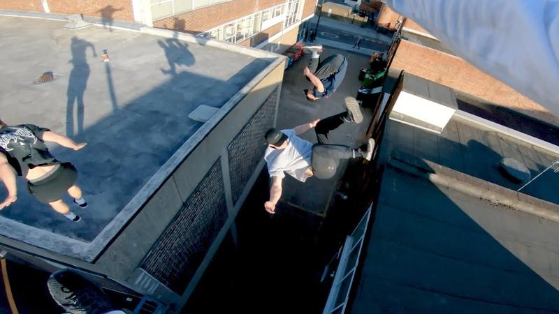 English Rooftop Parkour POV 🏴