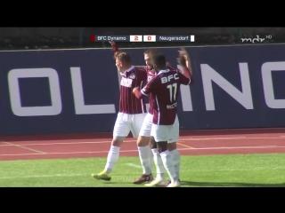 Динамо Берлин - Оберлаузиц Нойгерсдорф 2:1 (2:0)