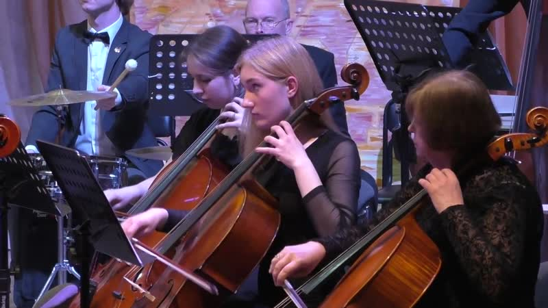 Юлія Самоєнко та симфонічний оркестр Вінницької філармонії