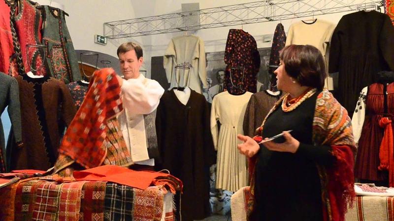 Музей Івана Гончара Лекція-показ Традиційне вбрання Київщини.