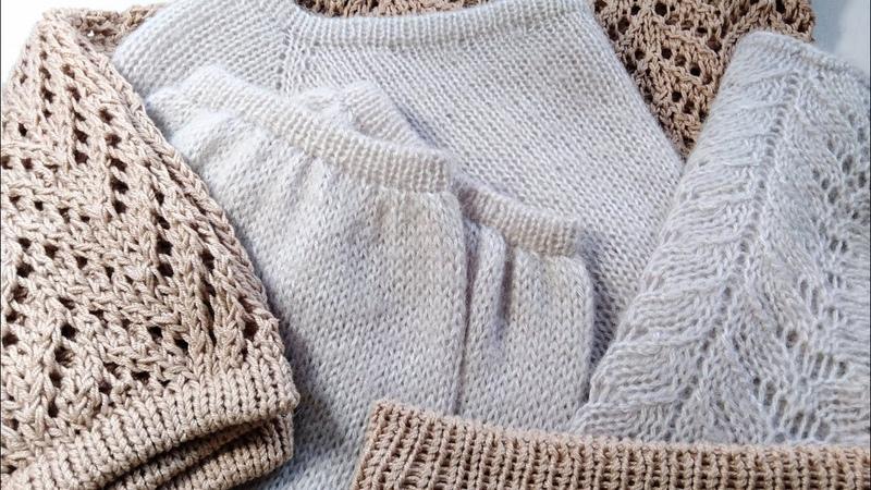 Вязание. Универсальный край изделия, легко и красиво. Подробный мк. Knitting /MK.