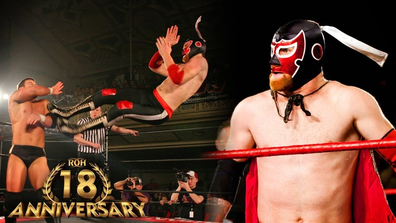 3 INSANE El Generico Matches in ROH ROH 18th Anniversary Collection