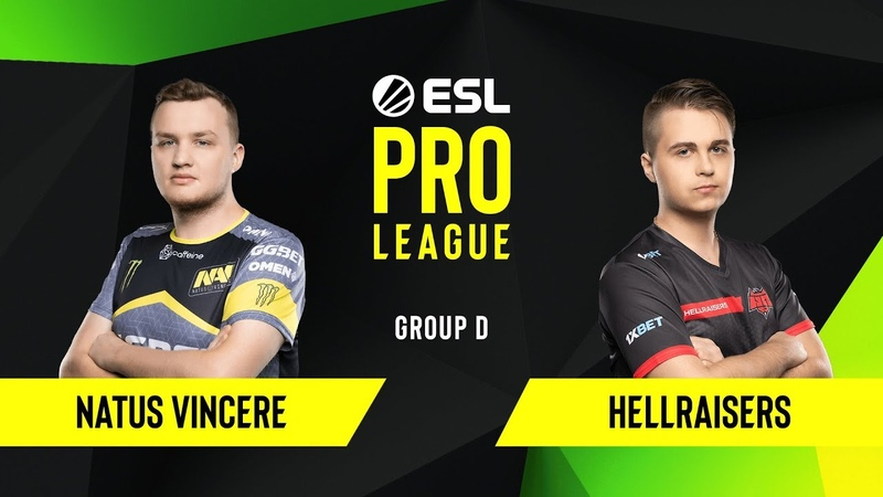 CSGO - HellRaisers vs. Natus Vincere [Dust2] Map 2 - Group D - ESL EU Pro League Season 10