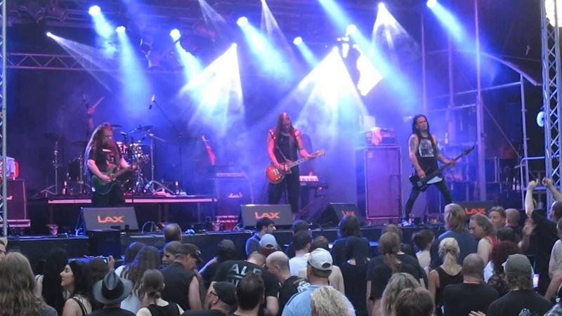 Poisonblack - Invisible *live* @ Castle Rock Festival, Mülheim an der Ruhr, 03.07.2015