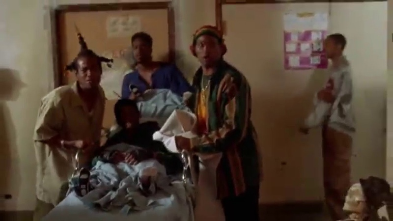 Dont Be a Menace to South Central. In the hospital